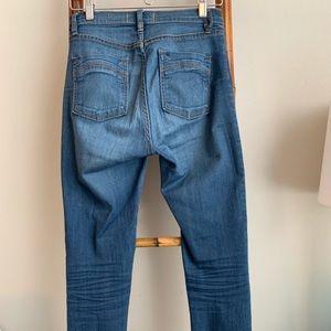 Free People Skinny Blue Jeans